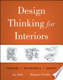 Design Thinking For Interiors Book