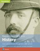 Edexcel Gcse 9 1 History Foundation Crime And Punishment Through Time C1000 Present Student Book