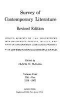 Survey of Contemporary Literature ebook