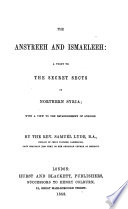 The Ansyreeh and Ismaeleeh