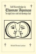 Self Knowledge in Thomas Aquinas