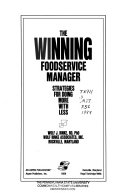 The Winning Foodservice Manager Book PDF
