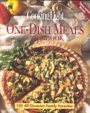 Cooking Light One Dish Meals Cookbook