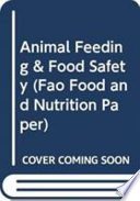 Animal Feeding And Food Safety Book PDF