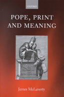 Pope  Print  and Meaning