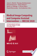 Medical Image Computing and Computer Assisted Intervention     MICCAI 2020 Book