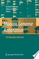 Modern Genome Annotation