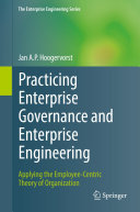 Practicing Enterprise Governance and Enterprise Engineering