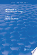Handbook of Medical Device Design Book