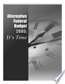 Alternative Federal Budget 2005 It S Time