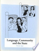 Language  Community and the State
