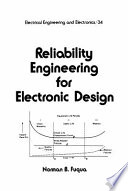 Reliability Engineering For Electronic Design