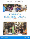 Reading And Learning To Read Enhanced Pearson Etext With Loose Leaf Version Access Card Package