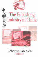 The Publishing Industry in China