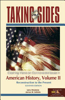 Taking Sides American History