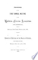 Condensed Report of the ... Annual Meeting of the Holstein-Freisian Association of America
