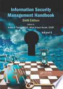 Information Security Management Handbook Sixth Edition