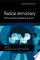 Radical Democracy Book