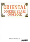 Oriental Cooking Class Cookbook