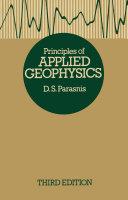 Principles of Applied Geophysics Pdf/ePub eBook