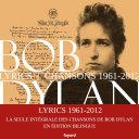 Lyrics 1961 - 2012 [Pdf/ePub] eBook