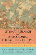 Literary Research and Postcolonial Literatures in English [Pdf/ePub] eBook