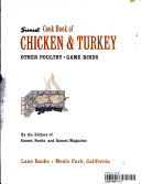 SUNSET COOK BOOK OF CHICKEN   TURKET OTHER POULTRY GAME BIRDS