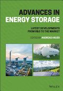 Advances in Energy Storage