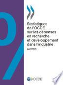 Statistiques de l'OCDE sur les dépenses en recherche et développement dans l'industrie 2014 ANBERD
