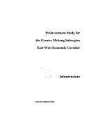 Preinvestment Study for the Greater Mekong Subregion East west Economic Corridor  Integrative report