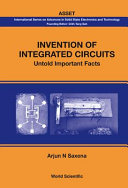Invention of Integrated Circuits