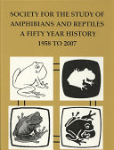 Society For The Study Of Amphibians And Reptiles Book PDF