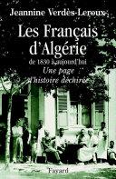 Pdf Les Français d'Algérie Telecharger