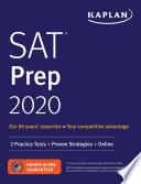 SAT Prep 2020