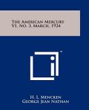 The American Mercury V1 No 3 March 1924