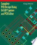 Complete Pcb Design Using Orcad Capture And Pcb Editor Book PDF