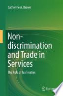 Non Discrimination And Trade In Services