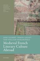 Medieval French Literary Culture Abroad [Pdf/ePub] eBook