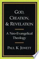 God Creation And Revelation