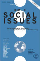 Journal of Social Issues  Social Psychology of Globalization Book