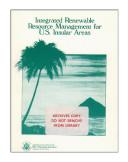 Integrated renewable resource management for U.S. insular areas. [Pdf/ePub] eBook
