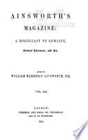 Ainsworth s Magazine Book