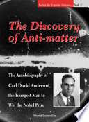The Discovery of Anti-matter