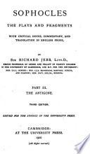 Sophocles: The Antigone. 2d. ed. 1891