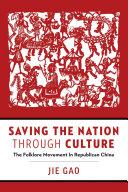 Saving the Nation through Culture