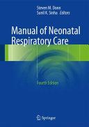 Manual of Neonatal Respiratory Care