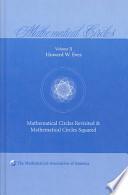 Mathematical Circles: Volume 2, Mathematical Circles Revisited, Mathematical Circles Squared