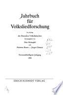 Jahrbuch für Volksliedforschung