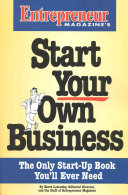 Entrepreneur Magazine's Start Your Own Business