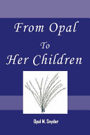 From Opal to Her Children Pdf/ePub eBook